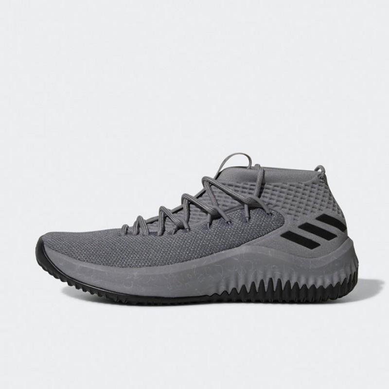 Jual Sepatu Basket Adidas Dame 4 Grey Original  3e1ef809a7