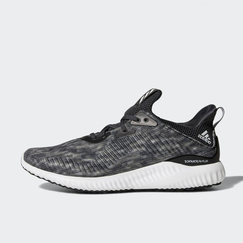 edbd6e9ee Jual Sepatu Lari Adidas Alphabounce Space Dye Black Original ...