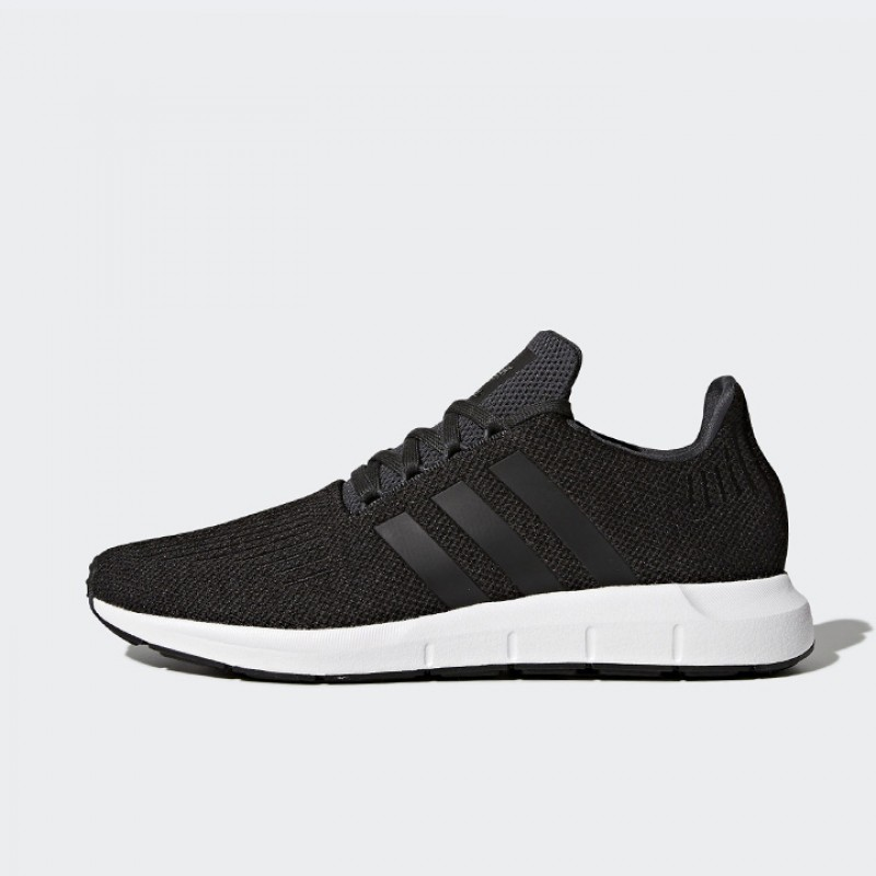 76c44192ec836 Jual Sepatu Sneakers Adidas Swift Run Black Original