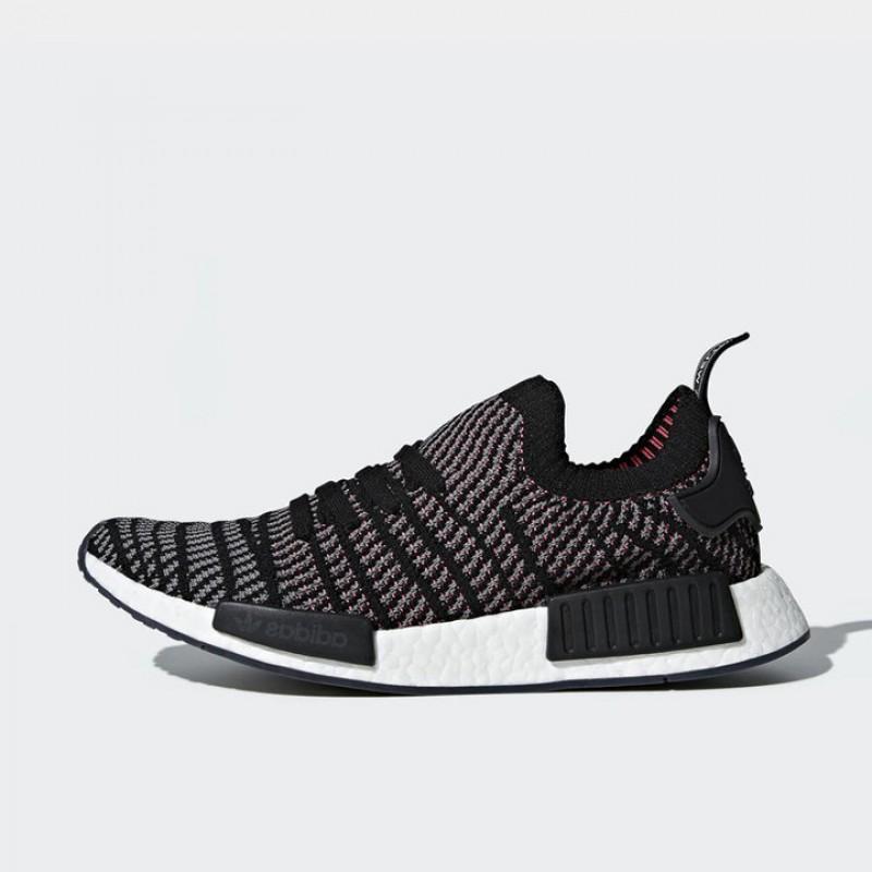 b908b0569 Jual Sepatu Sneakers Adidas NMD R1 STLT Primeknit Black Original ...