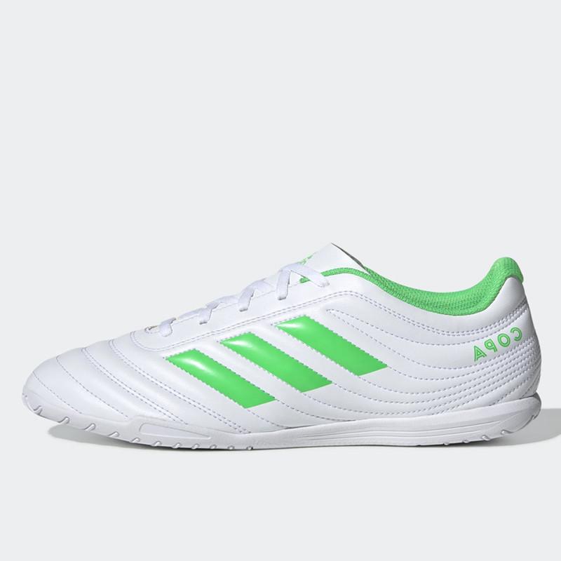 Jual Sepatu Futsal Adidas Copa 19 4 Indoor White Green Original