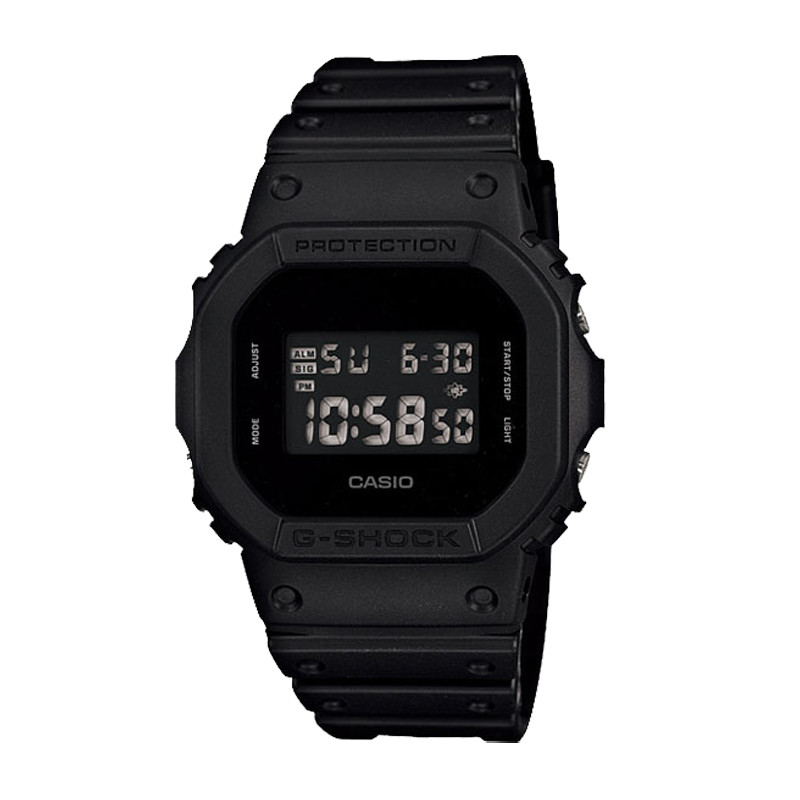 Jam Tangan  Casio G-shock Digital Display Dial Black Resin Strap