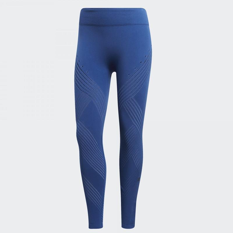Jual Celana Lari Wanita Adidas Wmns Warpknit Hr Tights Legging Blue Original Termurah Di Indonesia Ncrsport Com