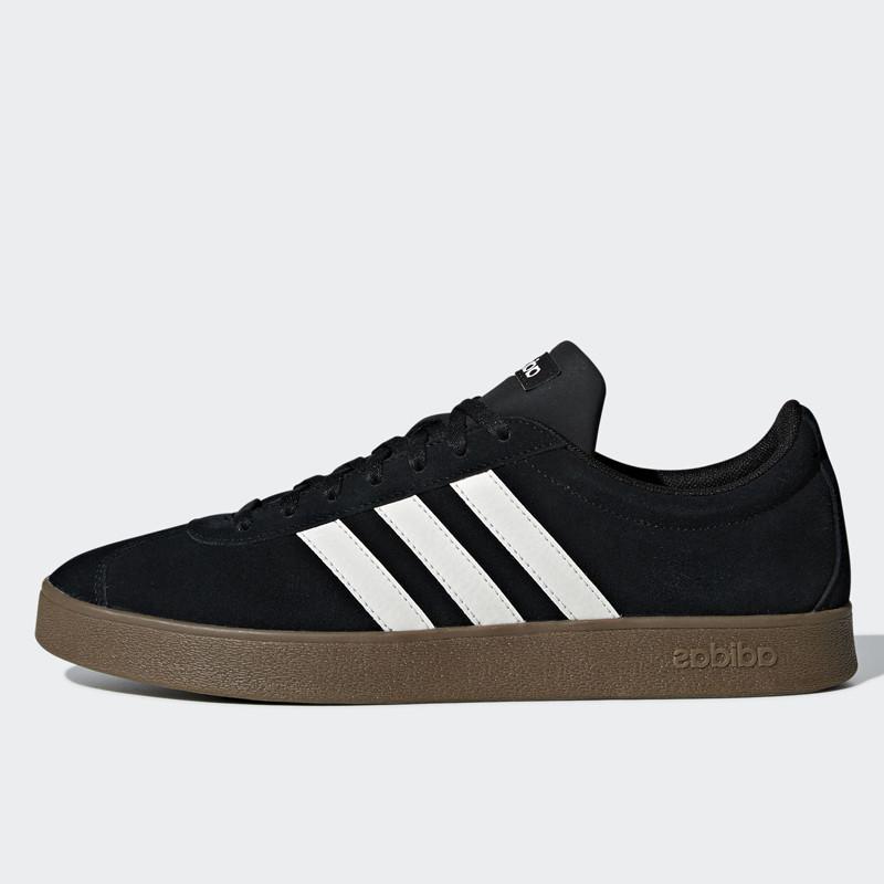Jual Sepatu Sneakers Adidas Skateboarding VL Court 2.0 Core Black ...