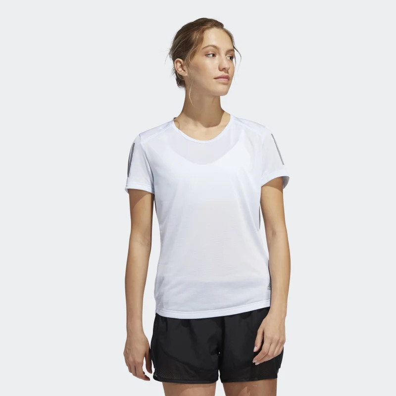 Baju lari adidas Wmns Own The Run Tee