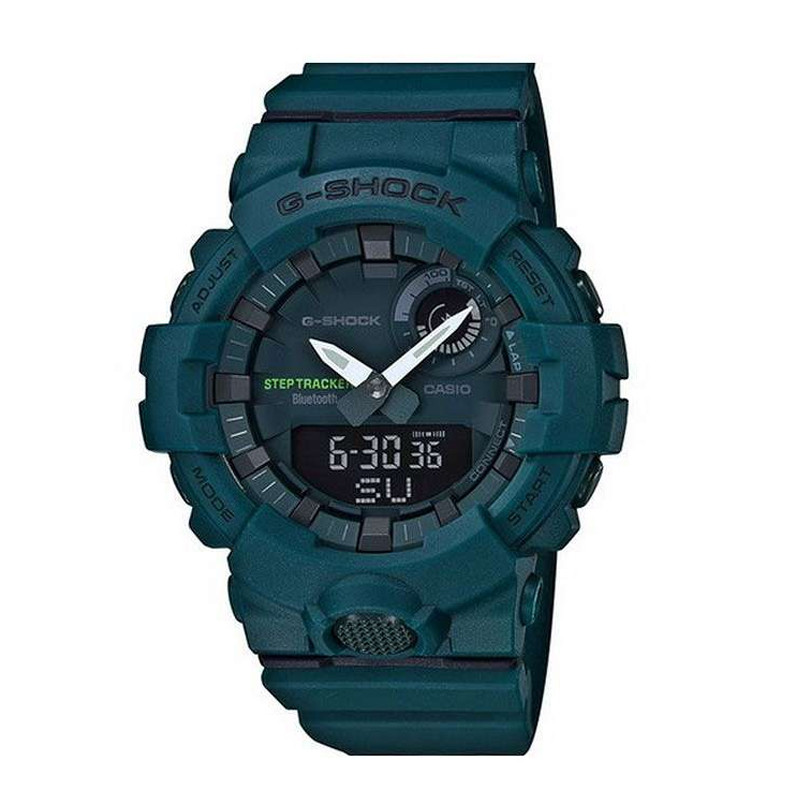 Jam Tangan  Casio G-shock G-Squad Smart Bluetooth Digital Analog Dial Resin Strap