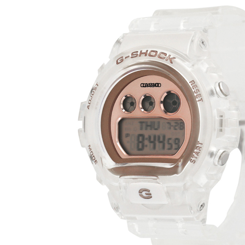 Jam Tangan  Casio G-shock Transparent Resin Band