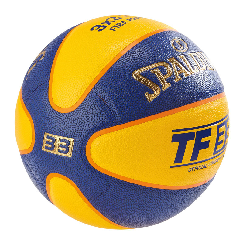Peralatan basket Spalding TF-33 3X3 FIBA Basketball Official Competition