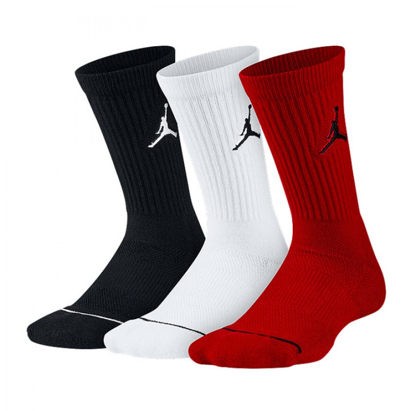 b43538f8f ... canada jual kaos kaki basket jordan dri fit jumpman 3pk crew socks  multi color original termurah