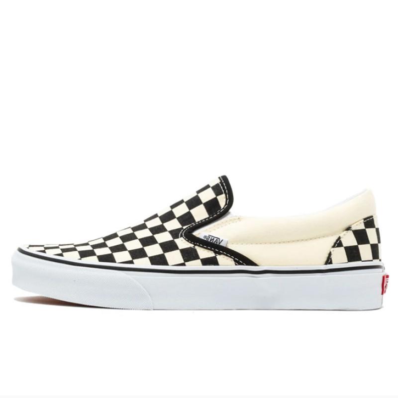 jual vans slip on checkerboard