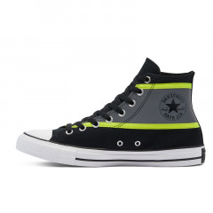Chuck Taylor All Star Hi Vis High-Top Black Lemon Venom