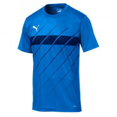 Baju Football Puma Ftblplay Graphic Tee Blue