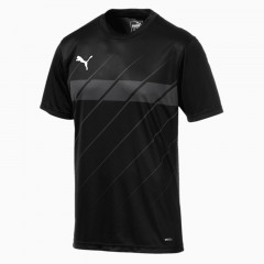 Baju Football Puma Ftblplay Graphic Tee Black