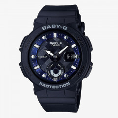 Baby-G Neon illuminator Digital Analog Watch Black