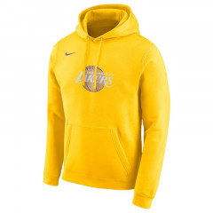 Los Angeles Lakers City Edition Pullover Fleece Hoodie Yellow