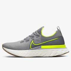React Infinity Run Flyknit Particle Grey Volt