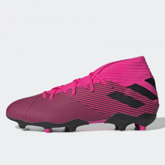 Sepatu Football Adidas Nemeziz 19.3 Firm Ground Shock Pink
