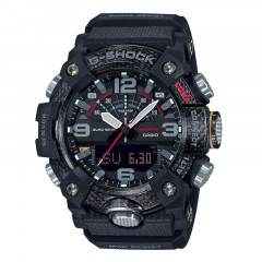 G-Shock Mudmaster Digital Analog Dial Black Resin Strap Black