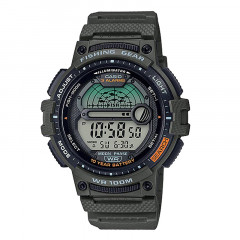Fishing Gear Digital Analog Watches Green
