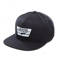 FULL PATCH SNAPBACK HAT Black